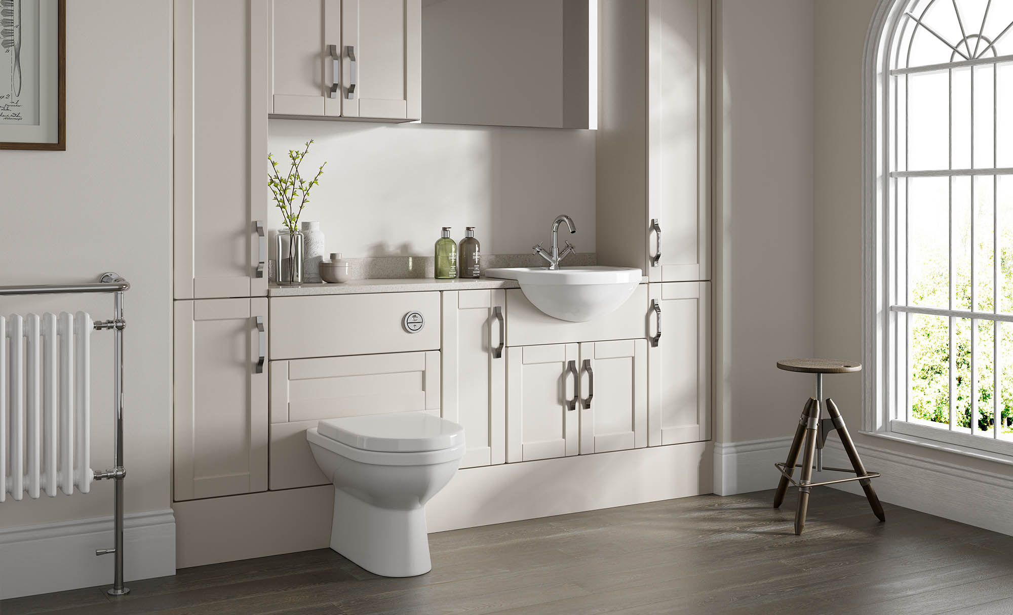 Gaddesby Bathrooms Cologne Mussel