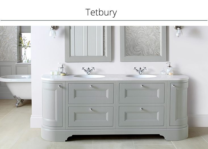 Sdavies bathroom furn co Tetbury Collection