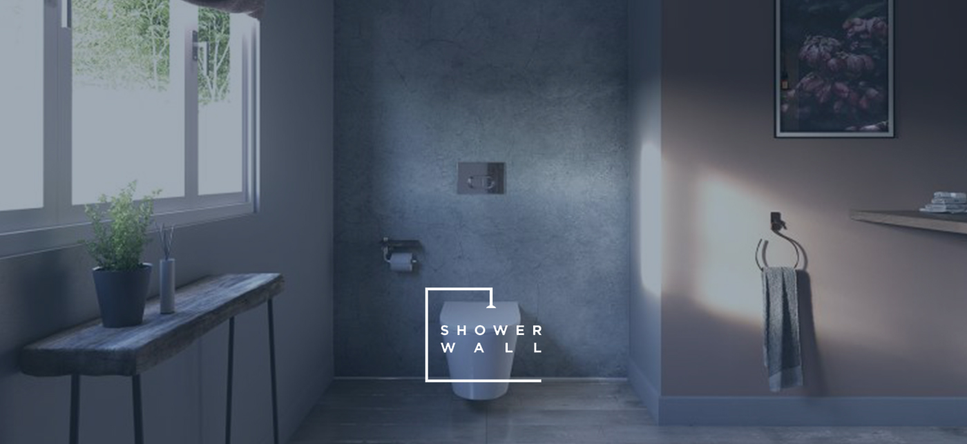 Sdavies sliders bathroom worksurfaces shower wall