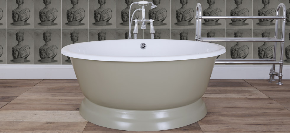 the drum cast iron bath 398